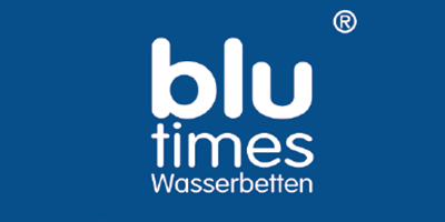 blu times Wasserbetten Logo